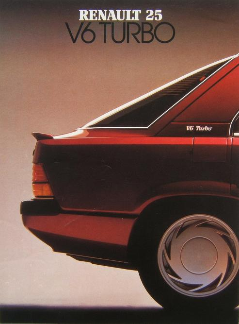 1985 Renault 25 V6 Turbo Related Infomationspecifications Weili