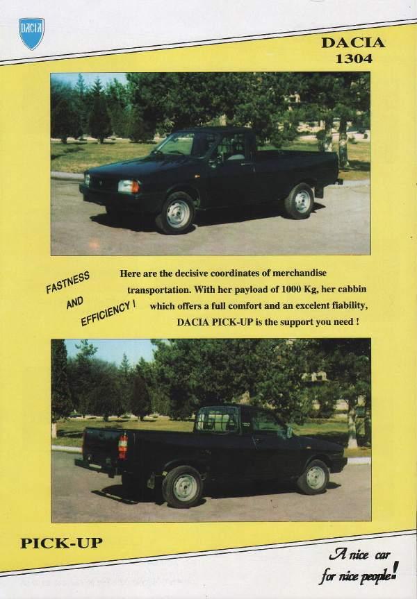 Dacia Pick-Up - Wikipedia